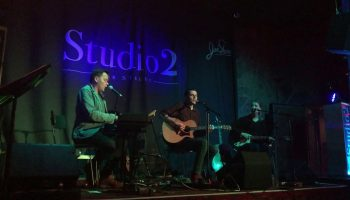 Bridie, Bateman & Neale performing the Crowded House classic 'Fall At Your Feet' at Studio2, Liverpool on 7th June 2019.