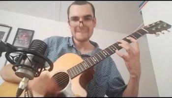 While My Guitar Gently Weeps (The Beatles) performed by Henry Bateman.